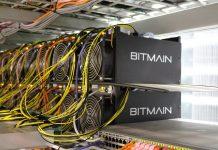 Máquinas de mineração de Bitcoin da Bitmain