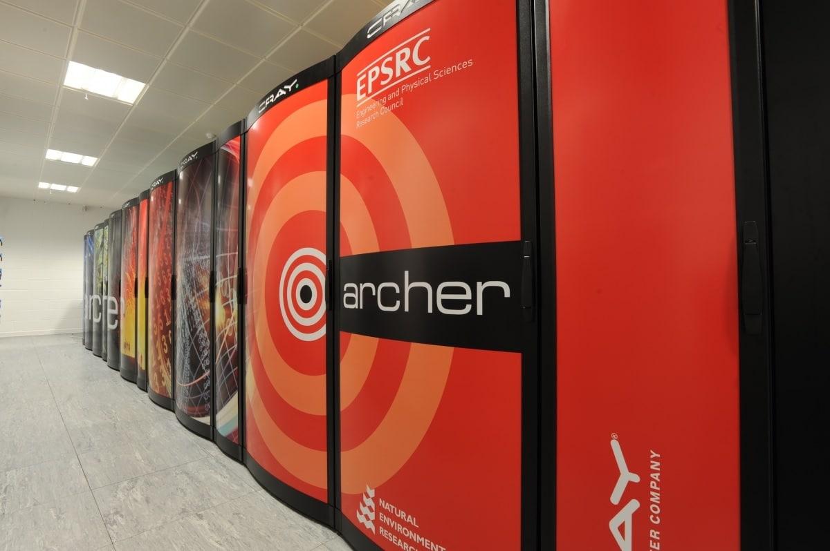 Super computador Archer. Imagem: cadosecurity