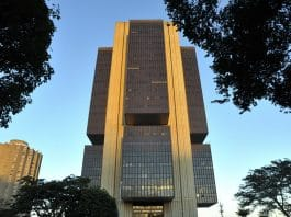 Fachada do Banco Central do Brasil (BC)