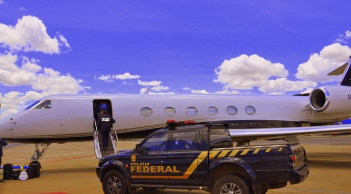 Polícia Federal PF prende suspeito de tráfico internacional de drogas