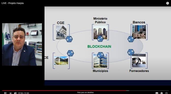 Projeto Harpia, Blockchain