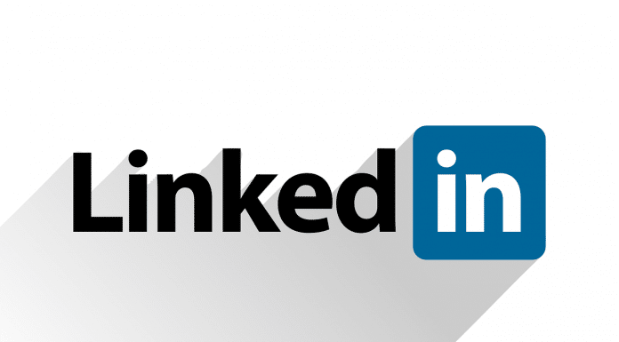 Logo do LinkedIn (blockchain e Bitcoin)