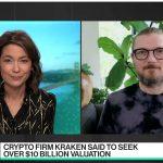 CEO da Kraken em entrevista À Bloomberg.