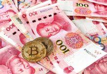 Yuan da China e Bitcoin