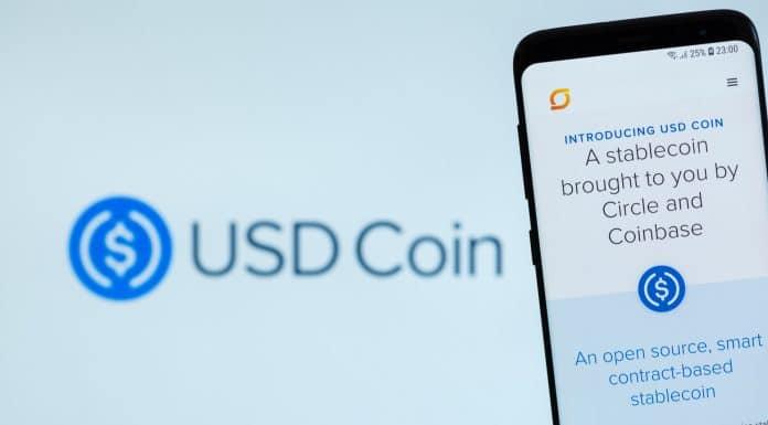 USDC - USD Coin é uma stablecoin lastreada em Dólar