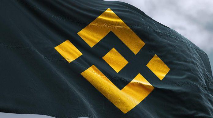 Binance Flag. Imagem: ShutterStock