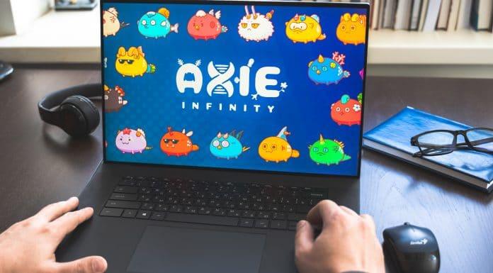 Jogador de Axie Infinity