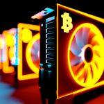 Máquina de minerar Bitcoin