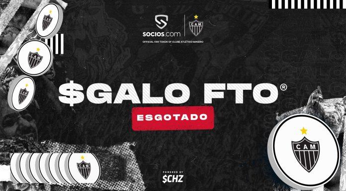 Atlético Mineiro vende tokens