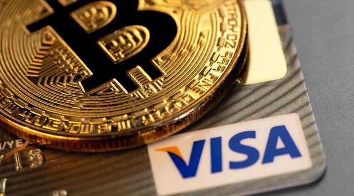 Bitcoin e Visa criptomoedas blockchain