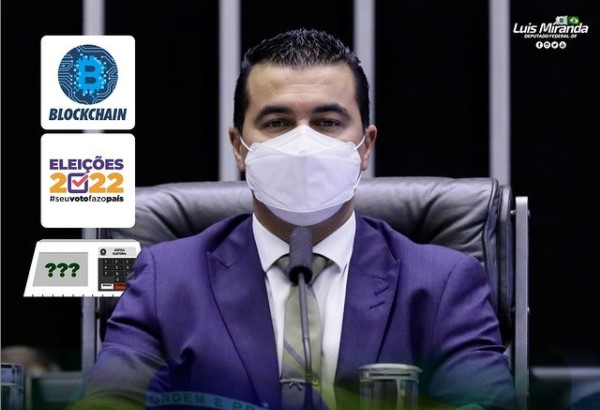 Deputado Luis Miranda defendeu a tecnologia do Bitcoin em publicação pelo Instagram