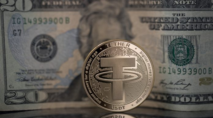 Dólar e Tether USDT lastro