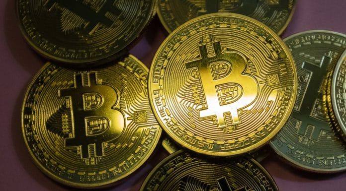 Foco no Bitcoin comercial transações corretora