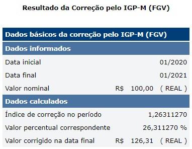 Fonte: www3.bcb.gov.br (Calculadora do Cidadão)