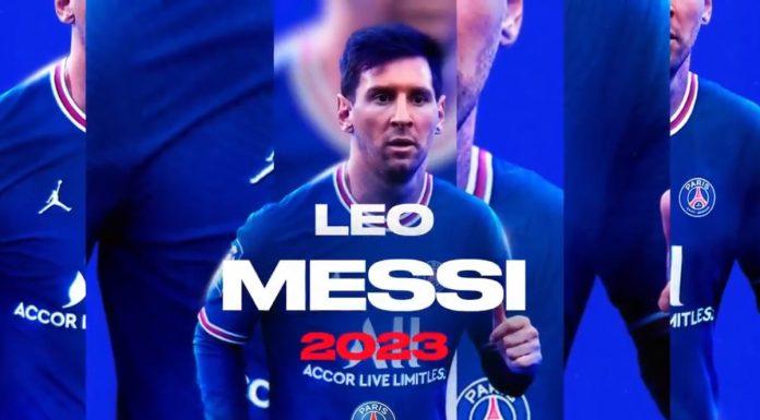 Leo Messi no PSG