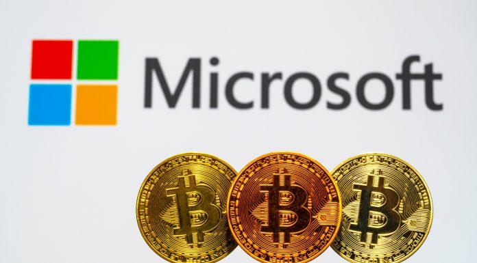 Microsoft e Bitcoin criptomoedas