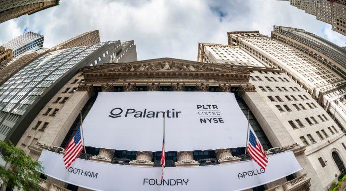 Palantir Technologies foi listada na NYSE compra ouro
