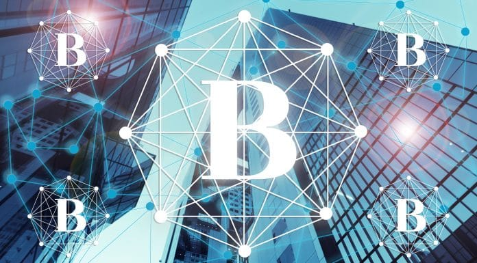 Prédios e o Bitcoin adoção de empresas institucional