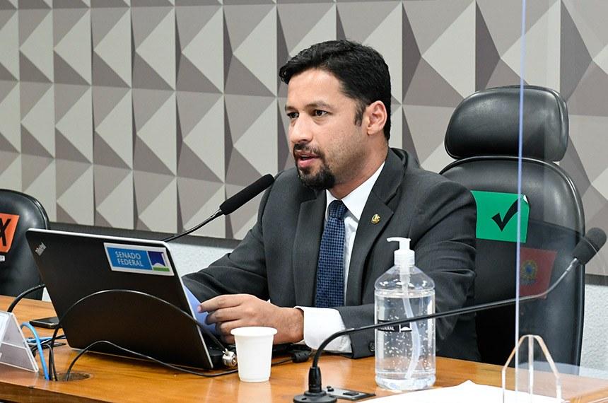 senador Rodrigo Cunha Fonte: Agência Senado explicações real digital