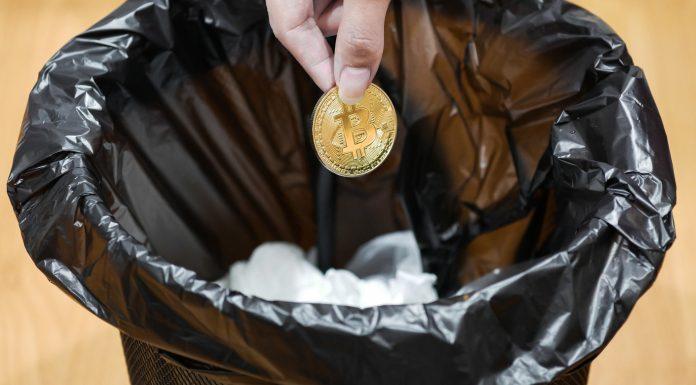 Bitcoin no lixo mineração