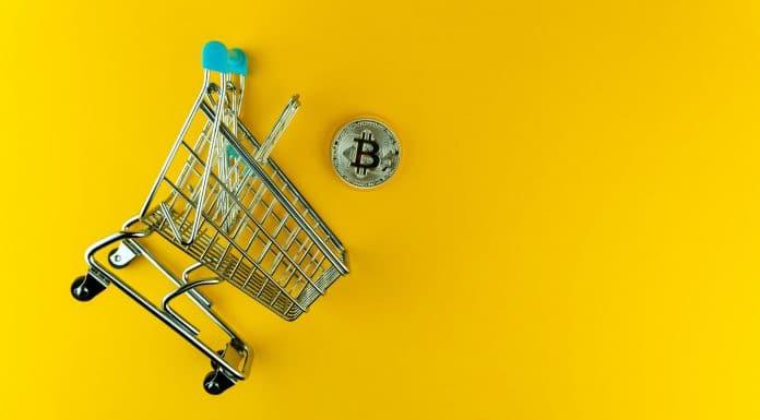 Carrinho de compra e Bitcoin