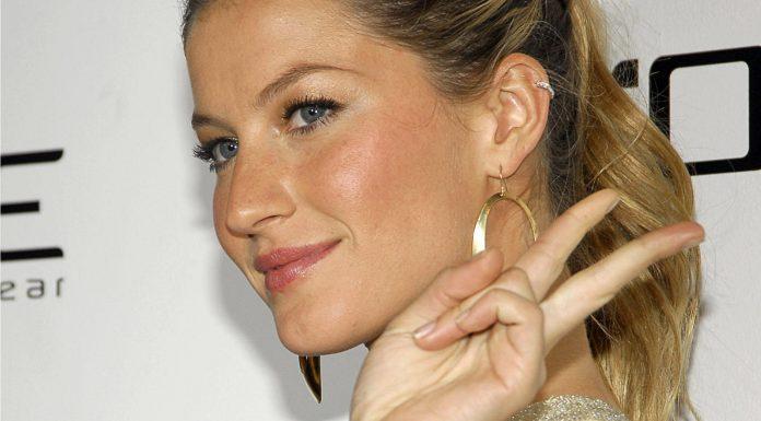 Gisele Bündchen modelo brasileira casada com Tom Brady