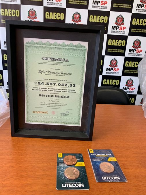 Golpe dava certificado para vítimas criptomoedas gaeco