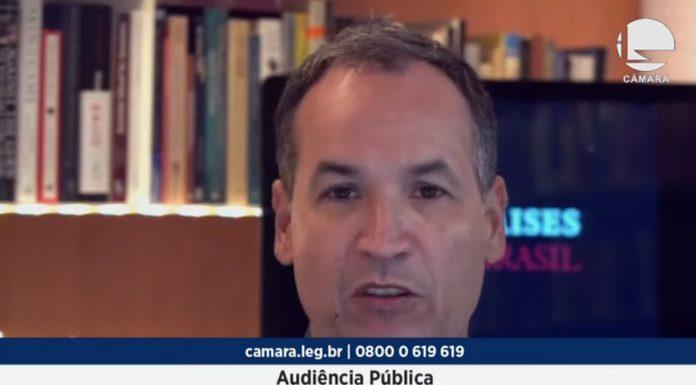 Hélio Beltrão, presidente do Instituto Mises Brasil em Audiência Pública sobre a restrição do dinheiro em espécie Real bitcoin