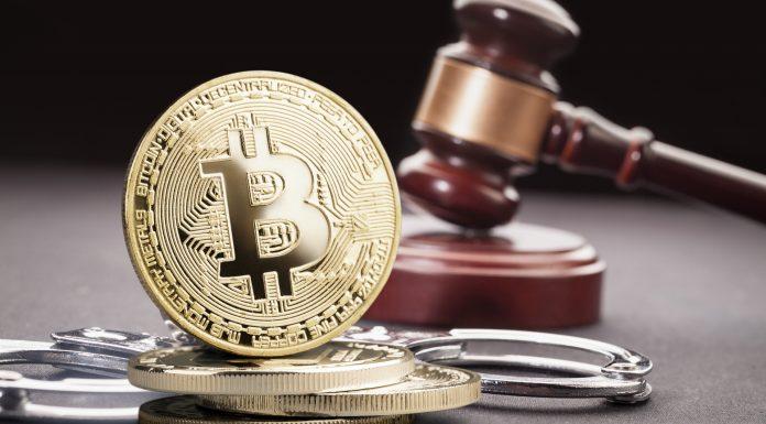 Martelo da Justiça e Bitcoin criptomoedas criptoativos