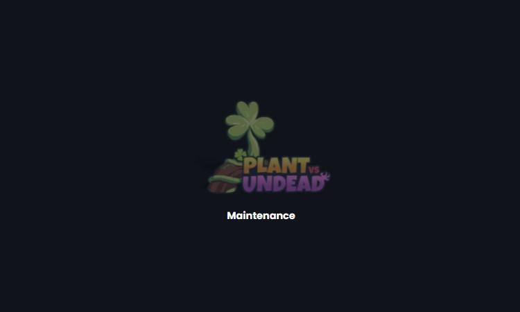 Plant vs Undead em manutenção neste segunda 13-09-2021
