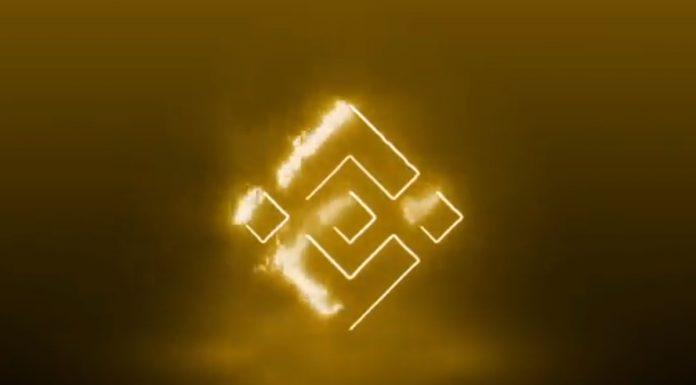 Símbolo da Binance líder maior corretora do mundo